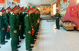 Trung đoàn 141 phát huy truyền thống vẻ vang