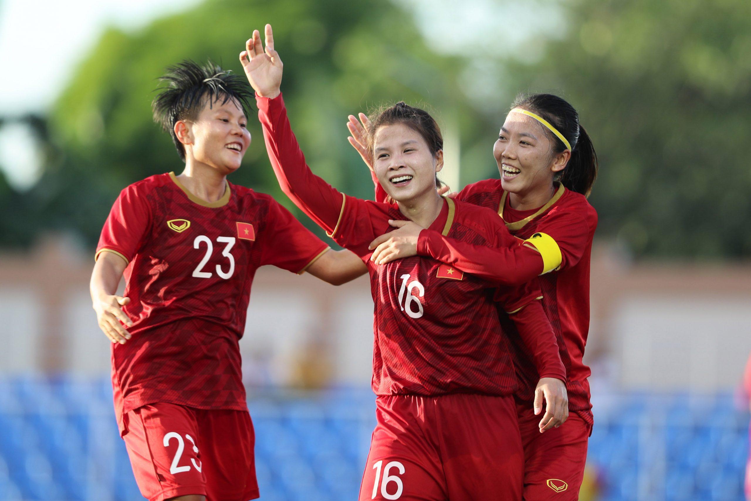 Đội tuyển nữ Việt Nam tăng một bậc, lên thứ hạng 33