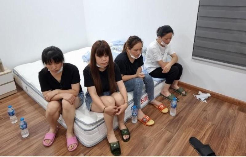 Điều tra nhóm 12 đối tượng Trung Quốc nhập cảnh trái phép