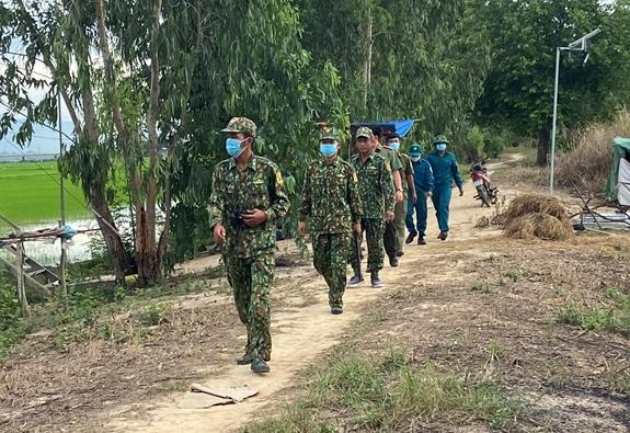 Bộ đội Biên phòng phát hiện, tiếp nhận 178 người nhập cảnh trái phép
