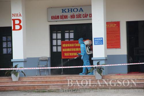 Phong tỏa toàn bộ Bệnh viện Phổi Lạng Sơn