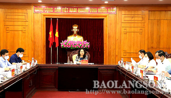 Hội nghị Ban Thường vụ Tỉnh ủy kỳ chuyên đề: Xem xét, cho ý kiến 2 nội dung quan trọng