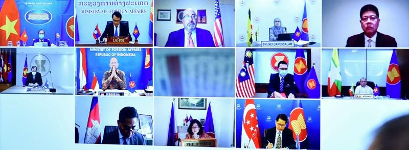 Đẩy mạnh hợp tác ASEAN-Mỹ về thương mại, đầu tư