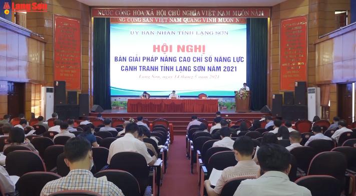 Bàn giải pháp nâng cao năng lực cạnh tranh tỉnh Lạng Sơn năm 2021