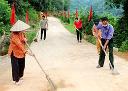 Nâng cao chất lượng xã đạt chuẩn nông thôn mới: Chủ động ở Cường Lợi