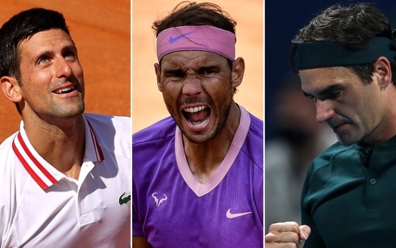 Federer, Nadal và Djokovic chung nhánh đấu tại Roland Garros 2021