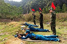 Văn Lãng: Phát huy vai trò chi bộ quân sự