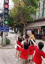 Giáo dục ý thức an toàn giao thông cho trẻ mầm non