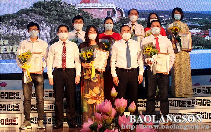 35 tác phẩm đạt giải báo chí tỉnh Lạng Sơn lần thứ I năm 2021