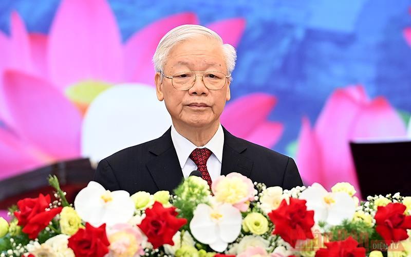 Diễn văn của Tổng Bí thư Nguyễn Phú Trọng tại chiêu đãi trọng thể chào mừng Tổng Bí thư, Chủ tịch nước Lào Thongloun Sisoulith