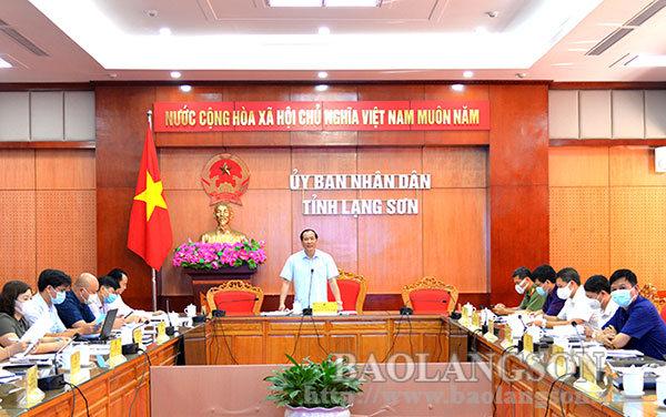 Họp Ban Tổ chức kỷ niệm 190 năm ngày thành lập tỉnh