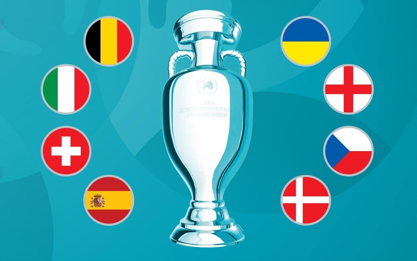 Điểm danh tám anh hào tại tứ kết Euro 2020