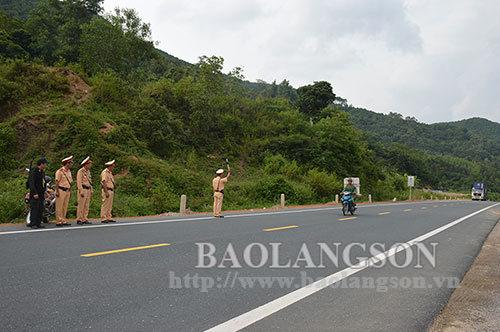 Chấm dứt việc thực hiện phân luồng phương tiện giao thông di chuyển từ Lạng Sơn đi qua Bắc Giang và ngược lại
