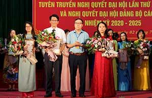 Đảng ủy khối các cơ quan tỉnh: Đa dạng hình thức tuyên truyền nghị quyết đại hội đảng