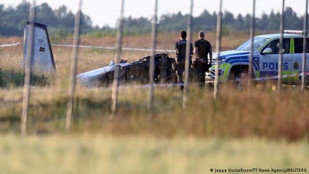 Vụ rơi máy bay ở Thụy Điển: Toàn bộ 9 người trên máy bay thiệt mạng