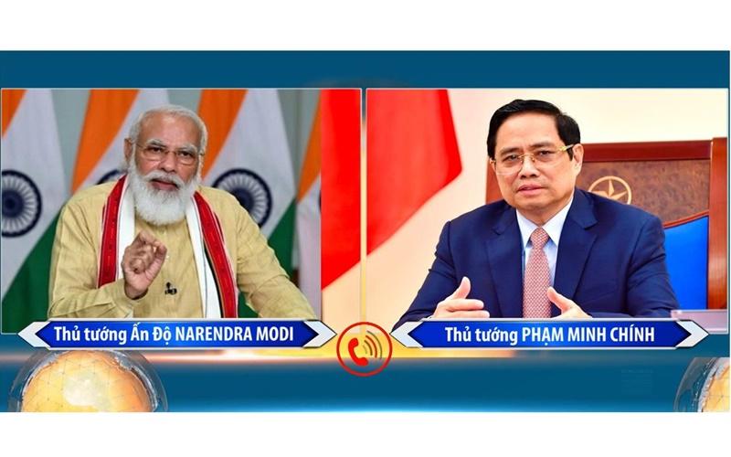 Việt Nam và Ấn Độ hợp tác chặt chẽ, hỗ trợ nhau đẩy lùi đại dịch Covid-19