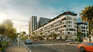 """Nhà phố thương mại Apec Diamond Park mua 1 được 2 làm """"khuấy đảo"""" thị trường bất động sản Lạng Sơn"""
