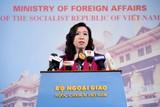 Việt Nam ủng hộ việc giải quyết các tranh chấp ở Biên Đông bằng ngoại giao và pháp lý