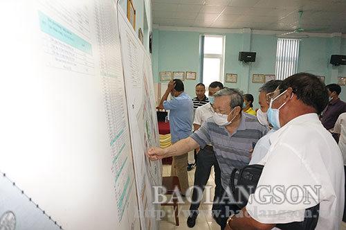 Công bố quyết định phê duyệt điều chỉnh cục bộ quy hoạch chi tiết khu đô thị Phú Lộc I+II, thành phố Lạng Sơn