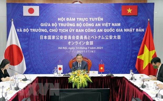 Việt Nam và Nhật Bản tăng cường hợp tác an ninh