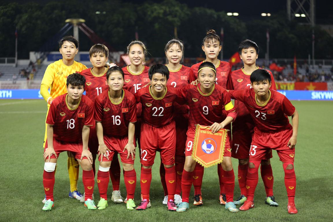 Đội tuyển nữ hướng tới mục tiêu cạnh tranh suất tham dự VCK World Cup 2023