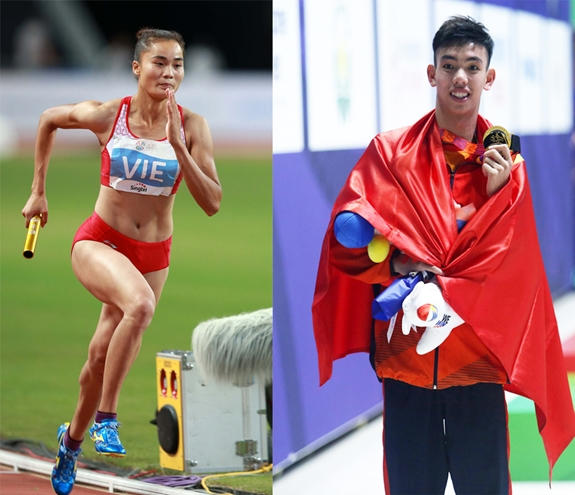 Xác định người cầm cờ cho đoàn thể thao Việt Nam tại Olympic
