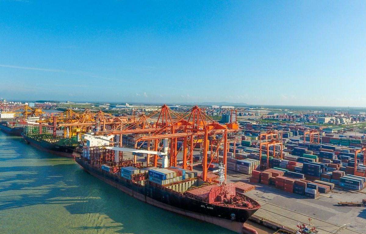 Hàng hóa qua cảng biển Việt Nam tăng trưởng ổn định dù dịch COVID-19
