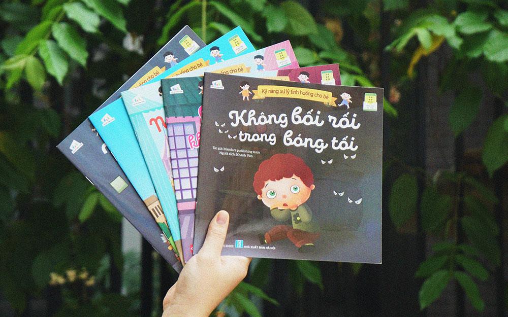 Bộ sách dạy trẻ kỹ năng xử lý tình huống