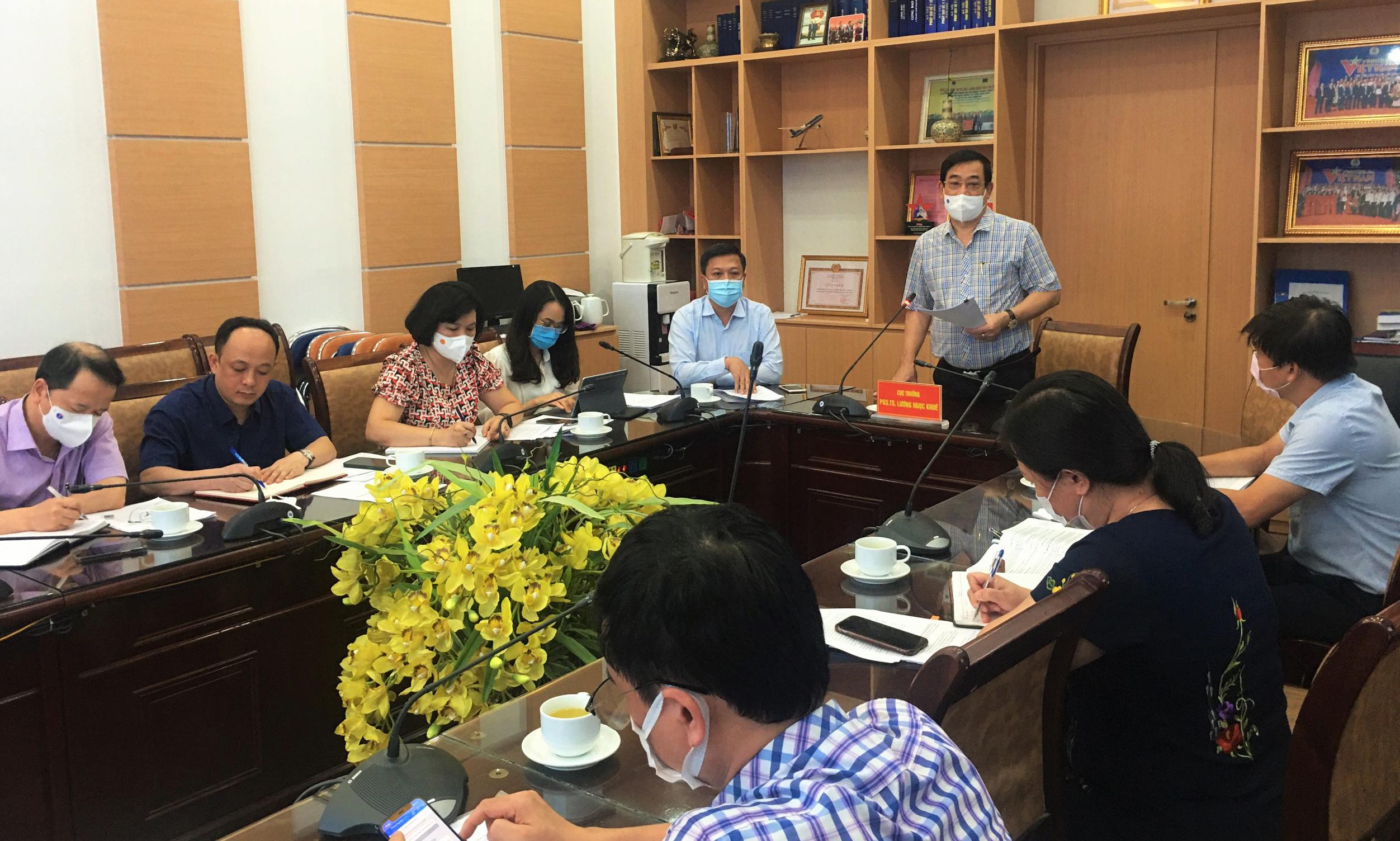 Người tham gia kỳ họp thứ nhất, Quốc hội khóa XV được xét nghiệm COVID-19 đủ 2 lần