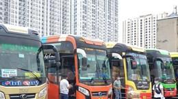 Hà Nội tạm dừng vận tải chở khách đi, đến các tỉnh phía Nam