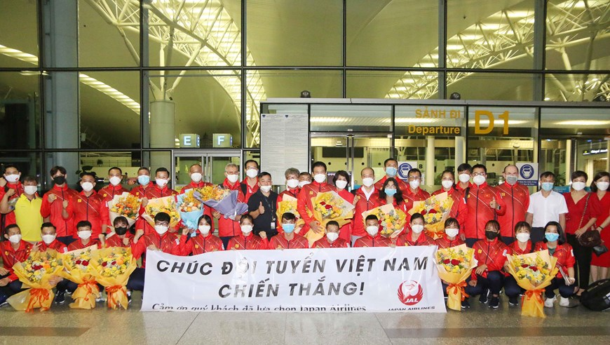 Đoàn Thể thao Việt Nam lên đường dự Olympic Tokyo