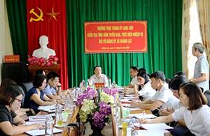 Thành phố Lạng Sơn: Nâng cao hiệu quả hoạt động các tổ chức cơ sở đảng