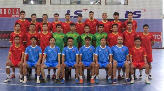 Triệu tập đội tuyển futsal Việt Nam chuẩn bị cho FIFA Futsal World Cup 2021
