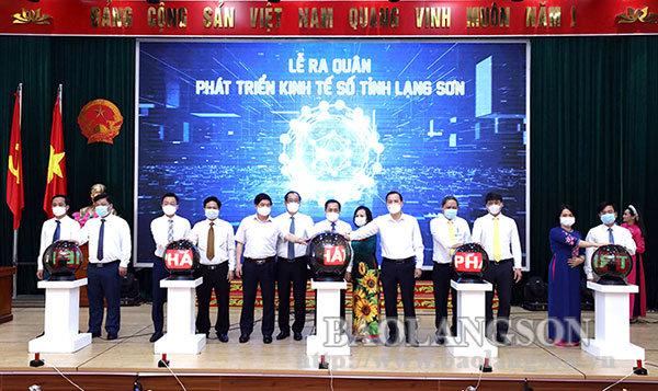 Lạng Sơn: Ra quân phát triển kinh tế số