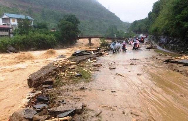 Các tỉnh phía Tây Bắc Bộ mưa lớn, đề phòng lũ quét và sạt lở đất