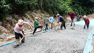 Hội Nông dân huyện Cao Lộc: Điểm sáng thực hiện các phong trào thi đua