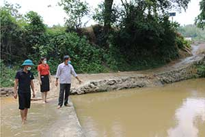 Văn Lãng: Chủ động phòng, chống thiên tai trước mùa mưa bão