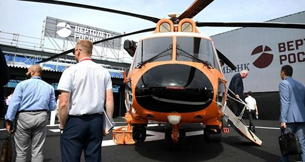 Nga giới thiệu hàng loạt mẫu trực thăng thương mại mới tại MAKS-2021