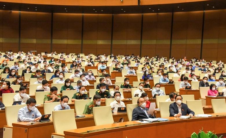 Thông cáo báo chí số 06 kỳ họp thứ nhất, Quốc hội khóa XV