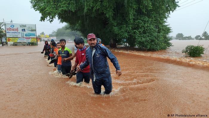 Nhiều bang ở Ấn Độ thiệt hại nặng do mưa lớn