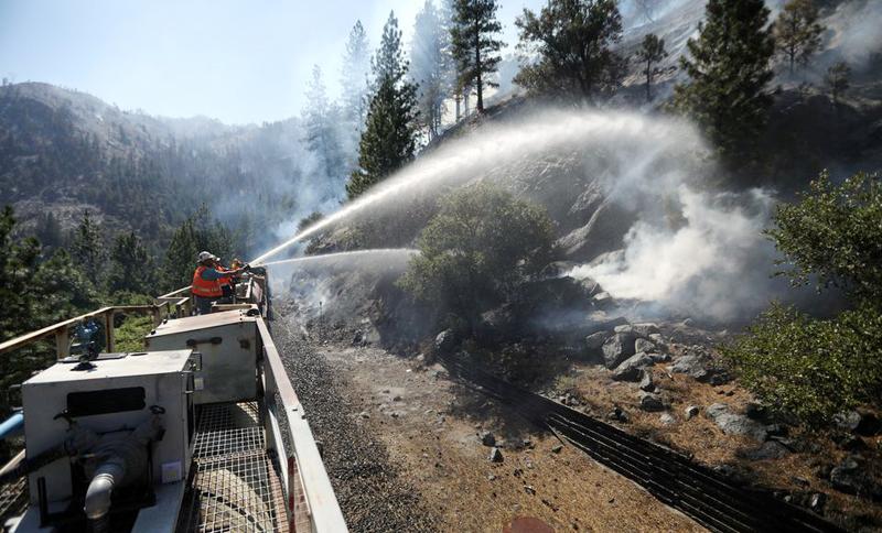 Cháy rừng nghiêm trọng tại Mỹ