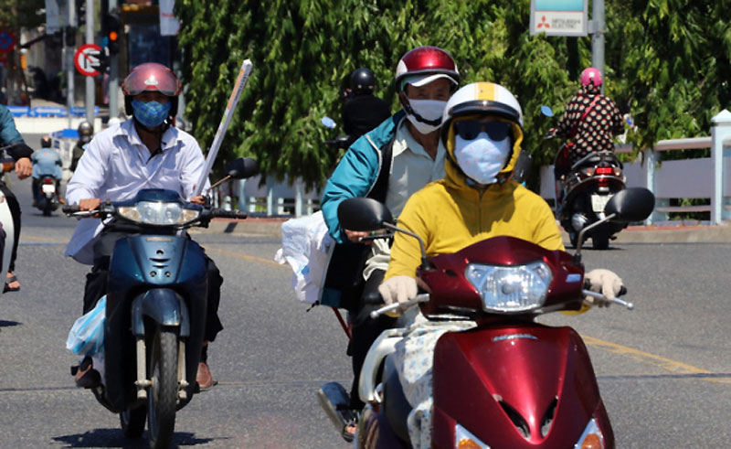 Nhiều nơi ở Trung và Nam Trung Bộ nắng nóng hơn 39 độ C