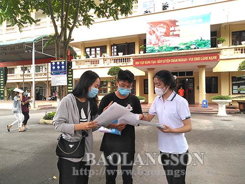 Lạng Sơn: Tỉ lệ đỗ tốt nghiệp THPT năm 2021 đạt 97,8%