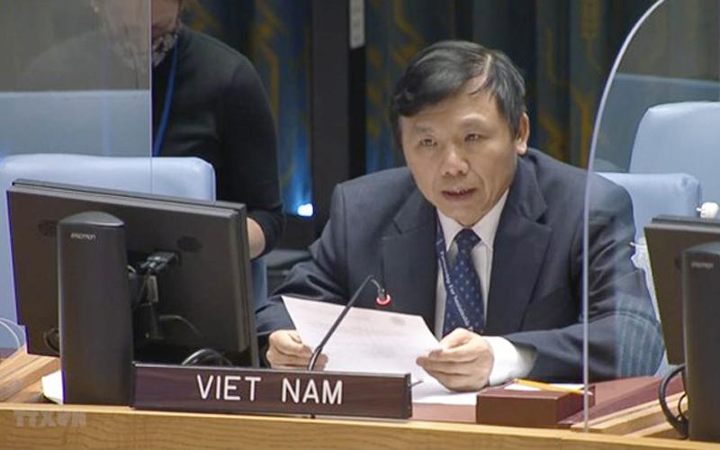 Việt Nam đóng góp tích cực vào nỗ lực quốc tế ngăn chặn xung đột