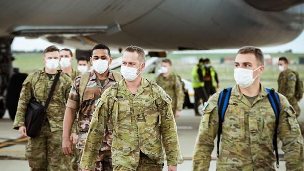 Australia triển khai hàng trăm binh sỹ tham gia chống dịch ở Sydney