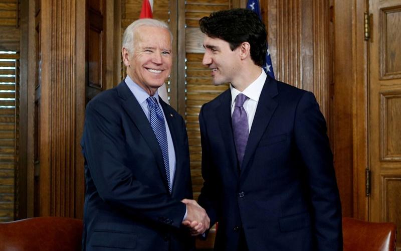 Thủ tướng Canada điện đàm với Tổng thống Mỹ