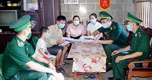 Bộ đội Biên phòng tỉnh: Cùng Nhân dân biên giới phòng, chống dịch COVID-19