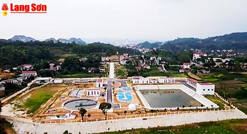 Nhà máy xử lý nước thải thành phố Lạng Sơn sẵn sàng đưa vào hoạt động