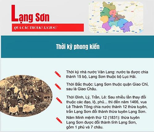 Lạng Sơn qua các thời kỳ lịch sử