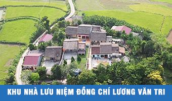 Khu nhà lưu niệm đồng chí Lương Văn Tri – điểm đến trong hành trình về nguồn